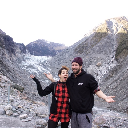 Hi to Fox Glacier
